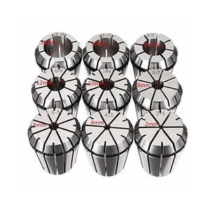 Image 5 - 9Pcs ER32 Lente Spantang Set Voor Cnc Workholding Graveren Machine En Frezen Draaibank Tool 2/4/6/8/10/12/16/18/20Mm Spantangen