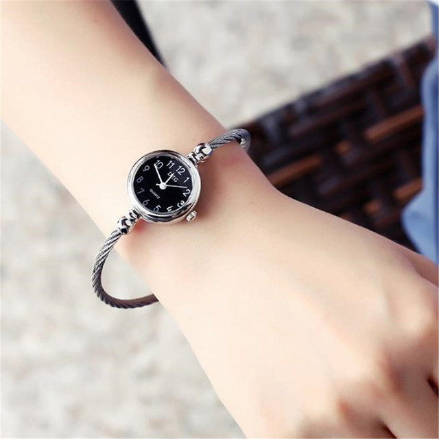 Leisure Stainless Steel  Ribbon Watch