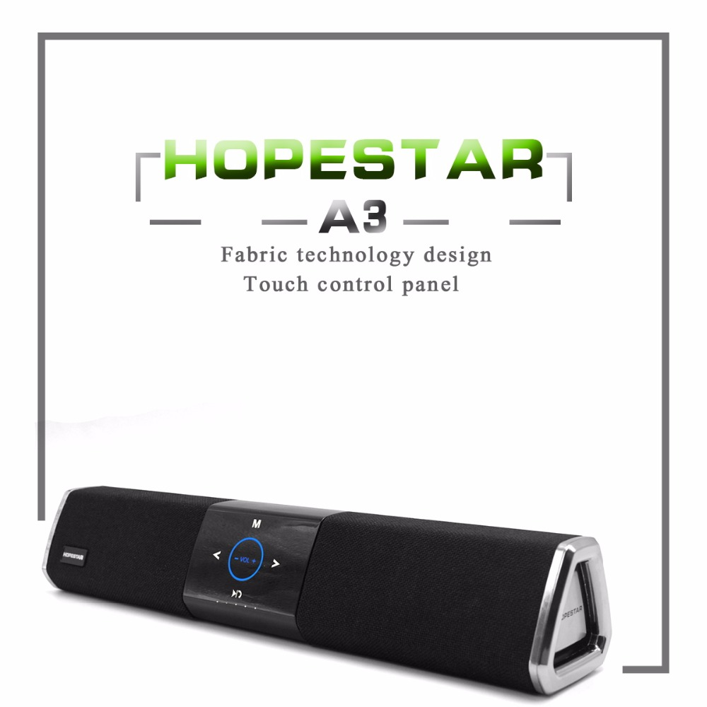 HOPESTAR A3 Wireless Home Theater 2.1 Bluetooth Speaker Dual Subwoofer 3D stereo surround Loudspeaker charge For TV wireless bluetooth speaker led audio portable mini subwoofer