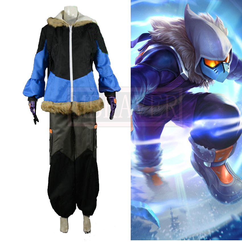 Gamde LOL Malzahar the Prophet of the Void Cosplay Costume For Adult Halloween Cosplay Outfit Custom Made Free Shipping