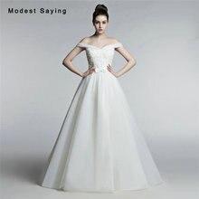 Elegant Ivory Ball font b Gown b font Beaded Lace font b Wedding b font Dresses