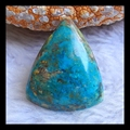 Natural Stone triangle Blue Opal Cabochon 29*24*7mm,5.8g, semiprecious stone fine jewelry accessory jewelry accessories