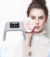 Led Beauty Spectrometer 4 Colors Light PDT LED Therapy Acne Freckle Removal Whitening Photon Facial Care Device