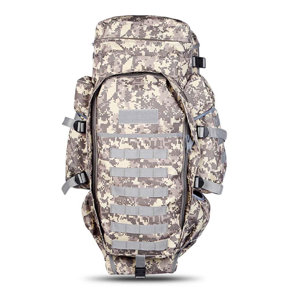 Outlife 60L Outdoor Hiking Backpack Tactical Military Backpack Pack Rucksack for Hunting Shooting Camping Trekking Traveling