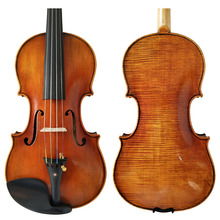 Free Shipping Copy Stradivarius 1716 100% Handmade Oil Varnish Violin + Carbon Fiber Bow Foam Case FPVN04 цена