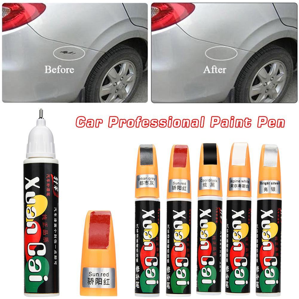 12ML Car Scratch Repair Pen Professional Matt Auto Care 5 Colors Car Scratch Repair Paint Care Auto Paint Pen