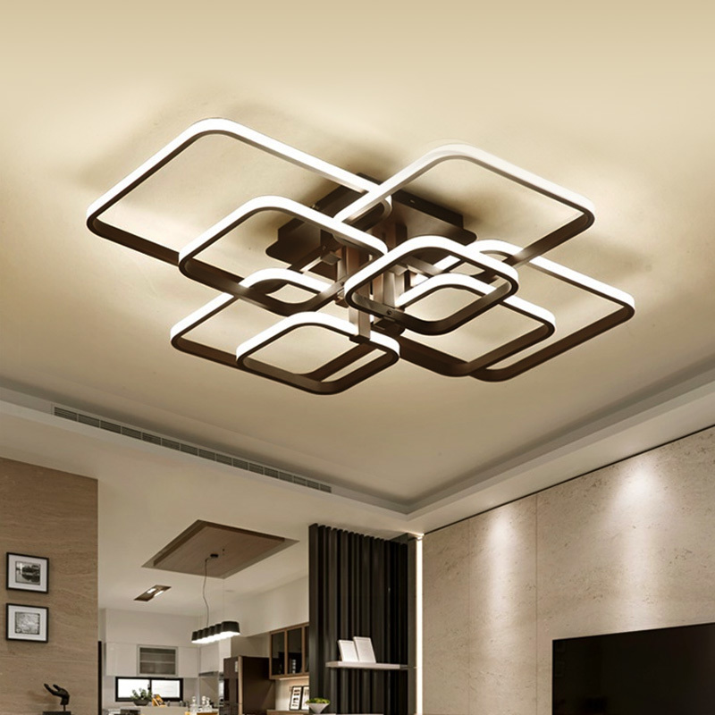preto moderna luzes lustre de led luminarias para sala de jantar home decor quarto lustre lampada