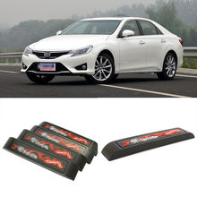 4Pcs Custom Made Rubber Car Door Anti Scratch Guard Protector Bumper For Toyota