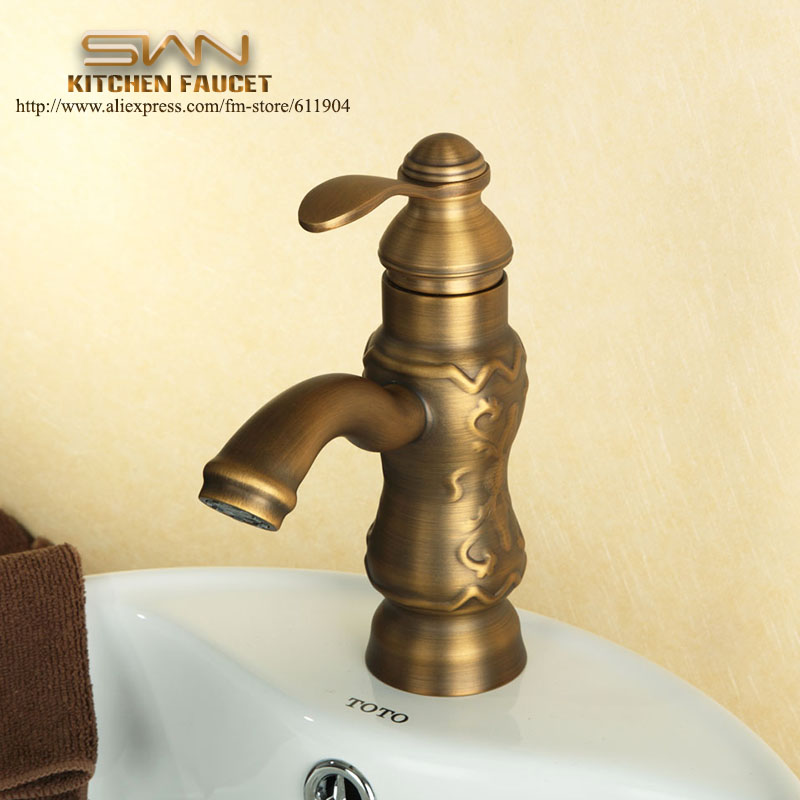 7 Faucet Finishes For Fabulous Bathrooms: Aliexpress.com : Buy Antique Brass Raised Pattern Bathroom