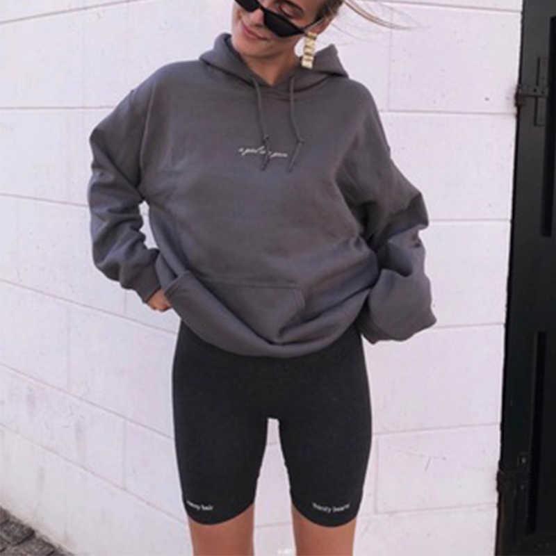 Yüksek bel 2019 Fashionshorts kadınlar seksi biker şort spor kore casual seksi kısa pamuk siyah atletik bisiklet şort