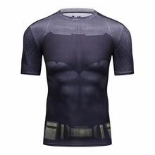 Batman VS Superman T-shirt T 3D Printed T-shirts Men's Short Sleeve New Cosplay Clothing Tops Male Halloween Costumes