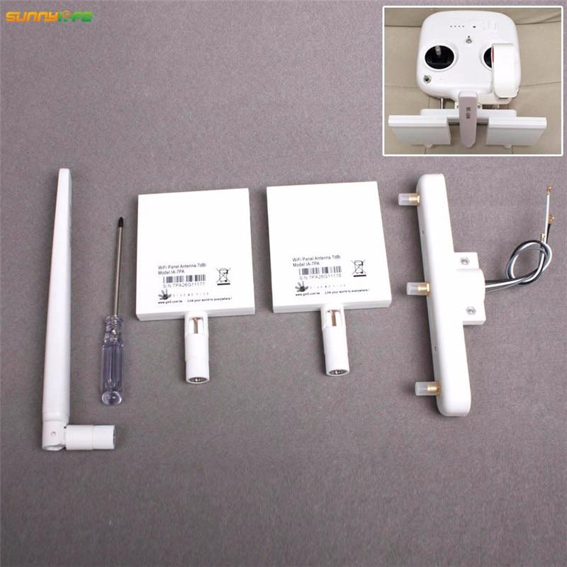 цены DJI Phantom 3S/SE Standard Remote Controller Refitting Antenna Extended Range Refitting Long Range Antenna Booster Combo