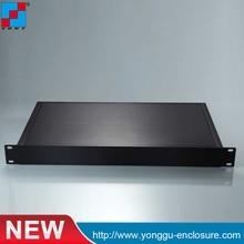 ФОТО 19 inch 1u electronical housing/wall mounting type junction box/heat sink aluminum case/control box/aluminium box