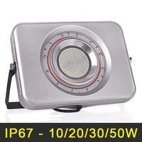 Ultrathin LED Floodlight 220V 240V LED Flood Light 10W 20W 30W 50W Reflector LED Spotlight Outdoor