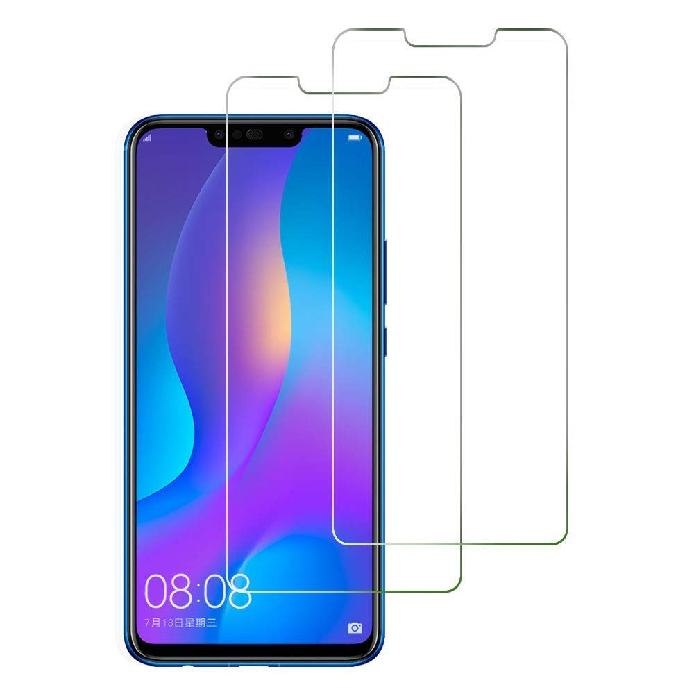 2Pcs Tempered Glass Huawei P Smart Plus 2019 2018 Screen Protector Psmart 2.5D 9H Glass For Huawei P Smart 2019 Protective Glass