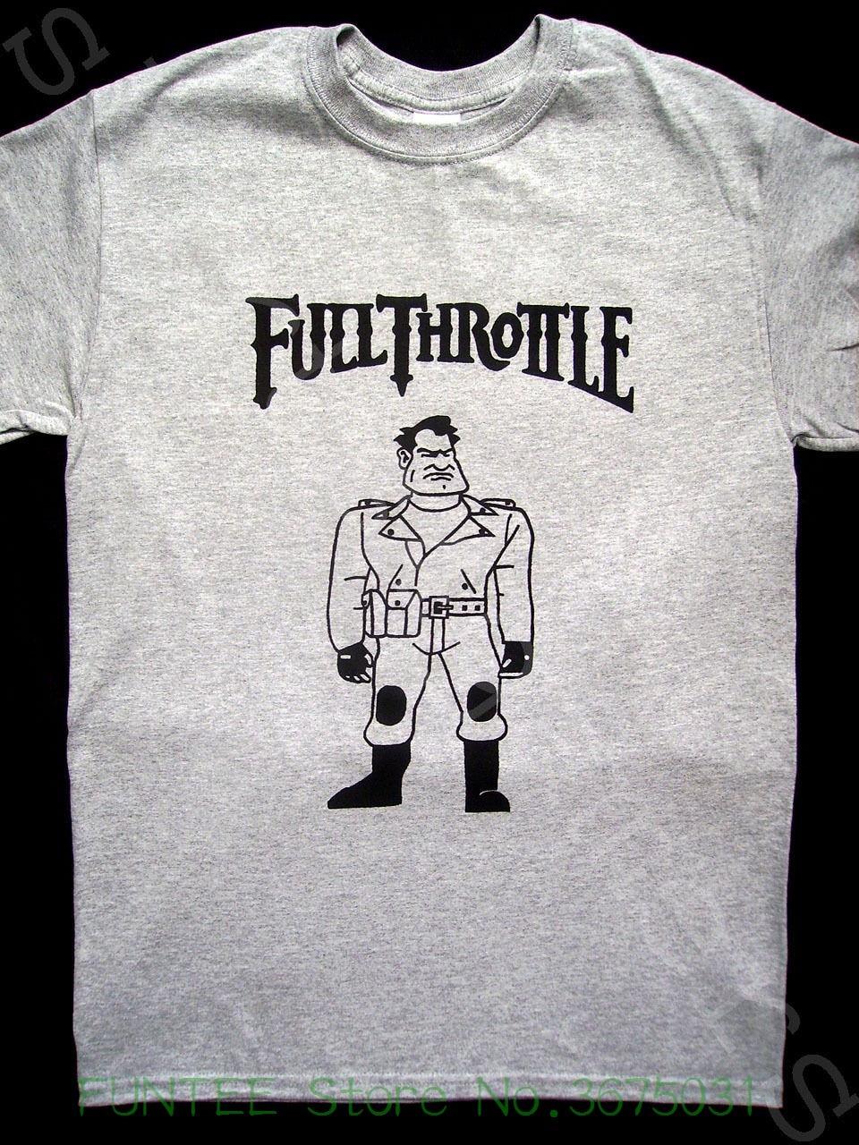 8c2ade8f045 Women s Tee Full Throttle T Shirt ( Maniac Mansion Loom Lucasarts Grim  Fandango Day Tentacle )