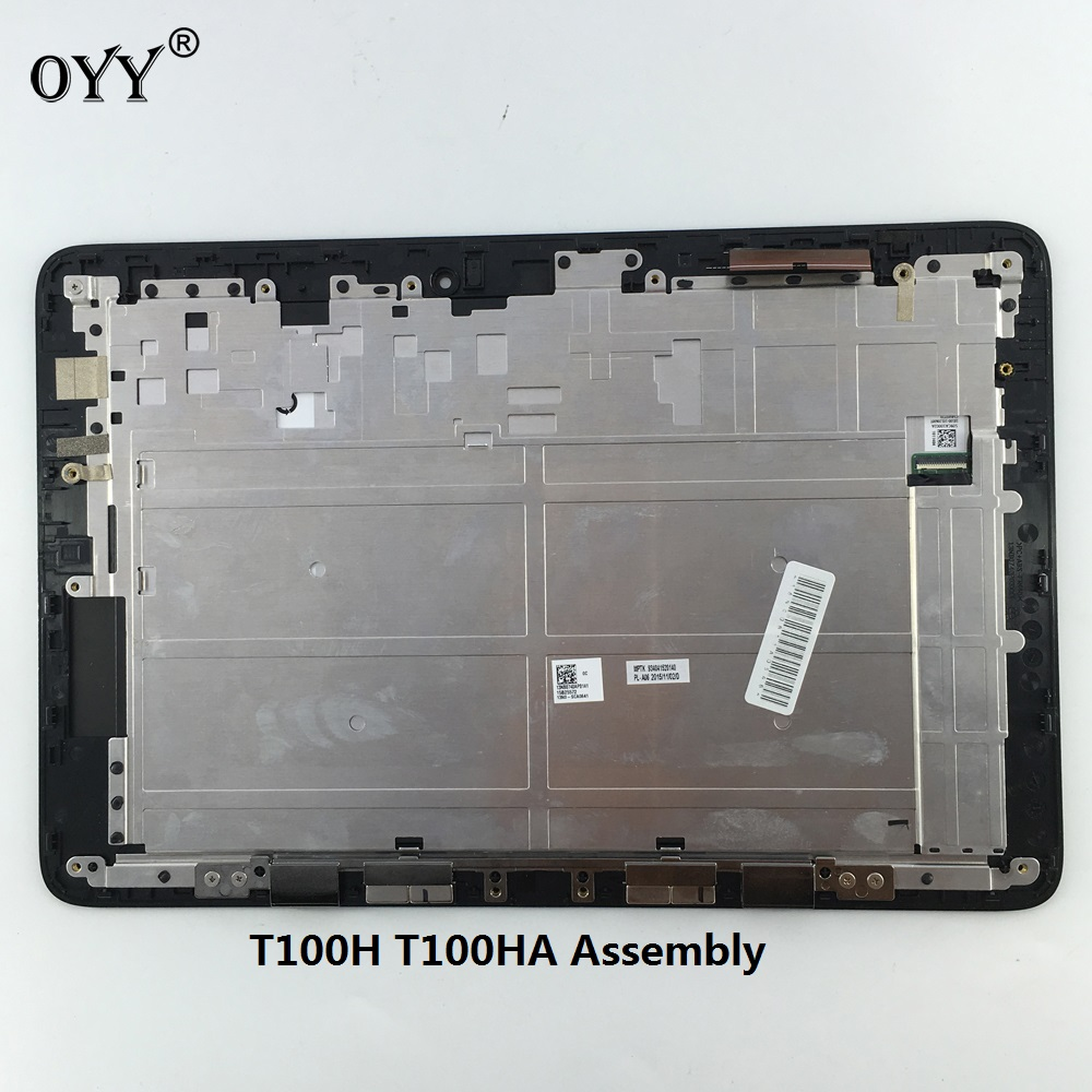 touch screen LCD Display Digitizer Glass Assembly with frame For ASUS Transformer Book T100H T100HA ASNGDM-1011404 V1.0 version black full lcd display touch screen digitizer replacement for asus transformer book t100h free shipping