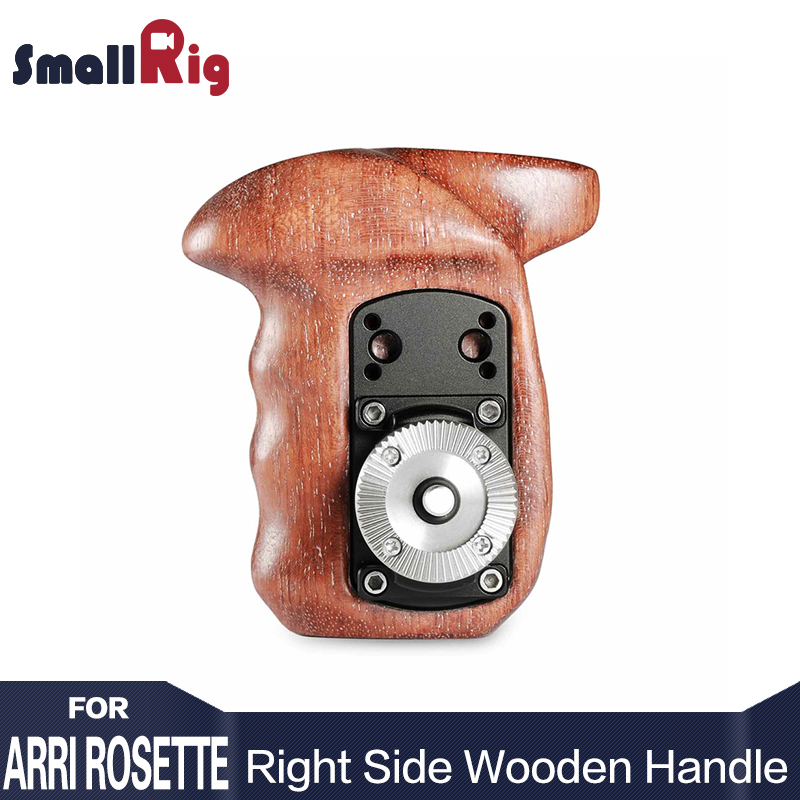 SmallRig Right Side Wooden Handle with ARRI Rosette Suit for Sony a7II/a7RII/a7SII SmallRig Cage - 1941