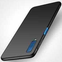 Coque arrière en plastique dur Ultra-mince pour Samsung Galaxy A7 2018, étui de protection mat pour Samsung A7 2018 A750