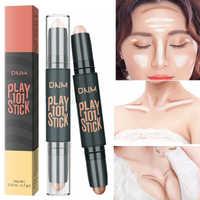 Gesicht Bronzer Highlighter Stick Einfach zu Tragen Machen Up Erhellen Gesichts Konturierung Make-Up Concealer Highlight Illuminator Bleistift