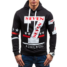 Men Sweatershirt 2017 new men's fashion casual Hooded Printing Pullover Hoodie DGHGV