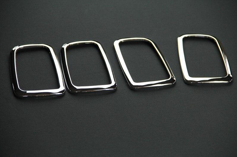Für Mitsubishi ASX ABS chromziergriff schüssel dekoration box ring 4 Teile/los für Mitsubishi ASX auto accessorie