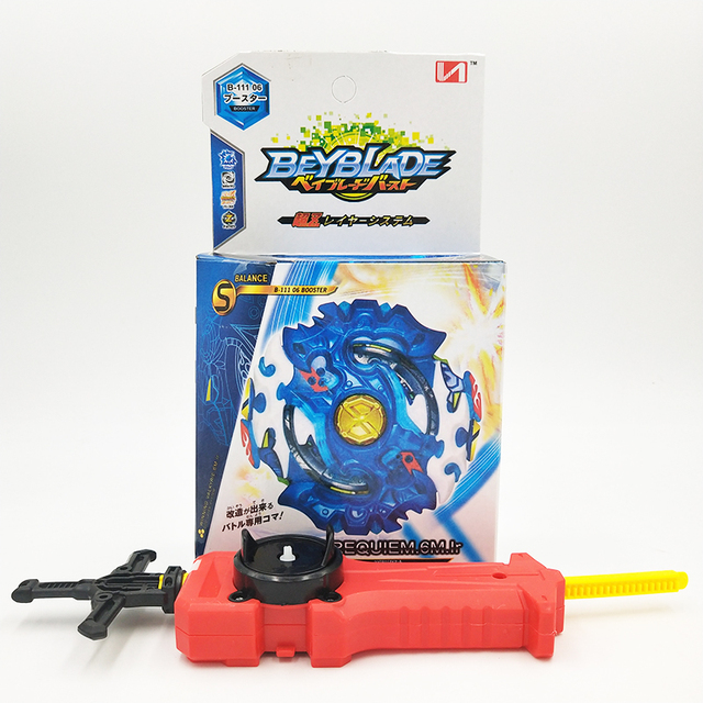 HOT Beyblade BURST God B-111 06 With Launcher Box Gift Bayblade Toupie Metal  Fusion God Spinning Top Bey Blade Blades Toys 6bfd94f1d1