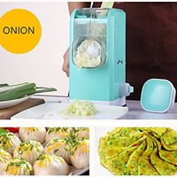 Multifunctional Meat Mincer Vegetable Chopper Cutter Home Manual Meat Grinder with 6 Stainless Steel Blades
