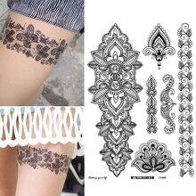 30 styles flower butterfly pattern temporary tattoo sticker water transfer for body art arm neck leg fake tattoo sticker RA018