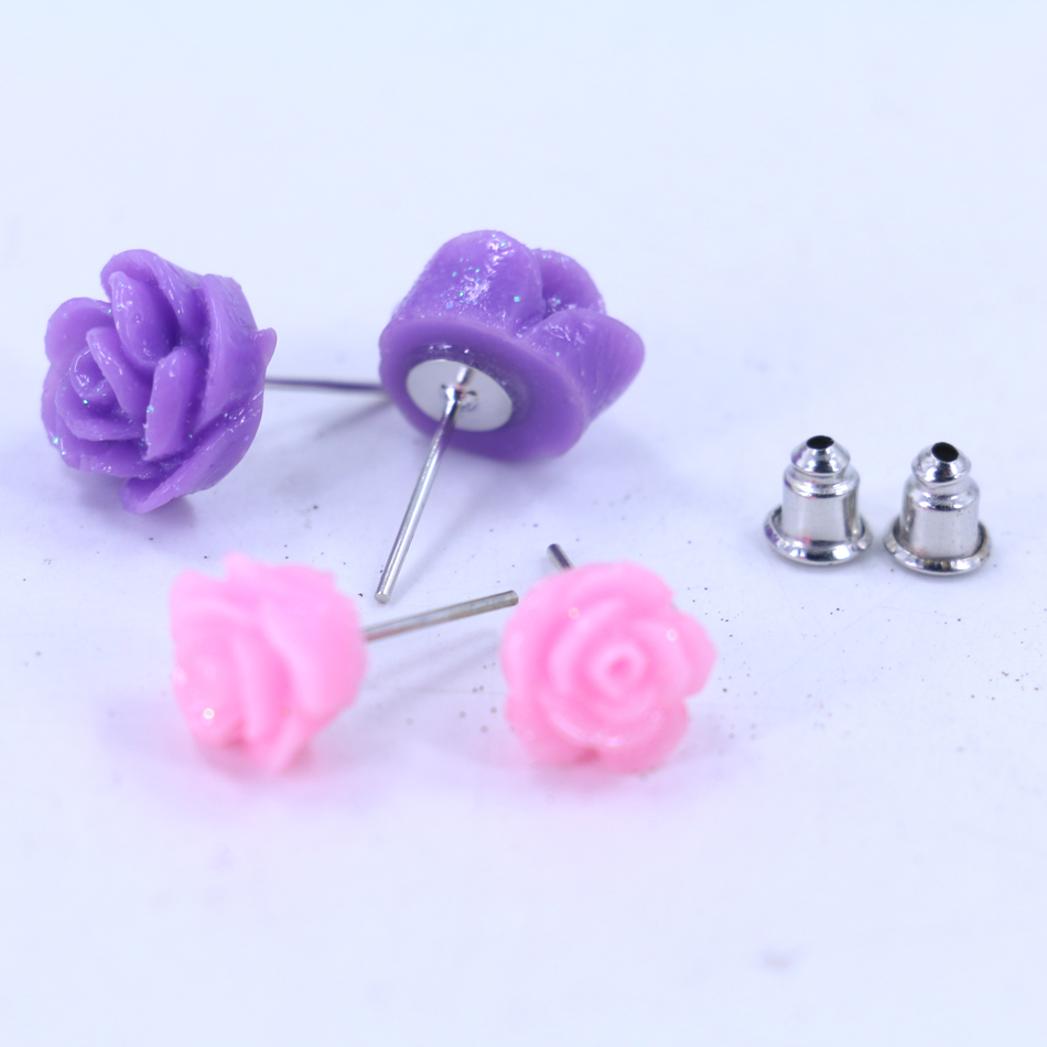 tradesy colorful spade stud kate i earrings