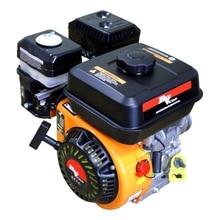 Двигатель бензиновый RedVerg RD-170F (7 л.с, 208 куб.см, бак 3.6 л, расход 395г/кВт*ч, диаметр вала - 20мм, 3-х руч. шкив, вес 14.5 кг)