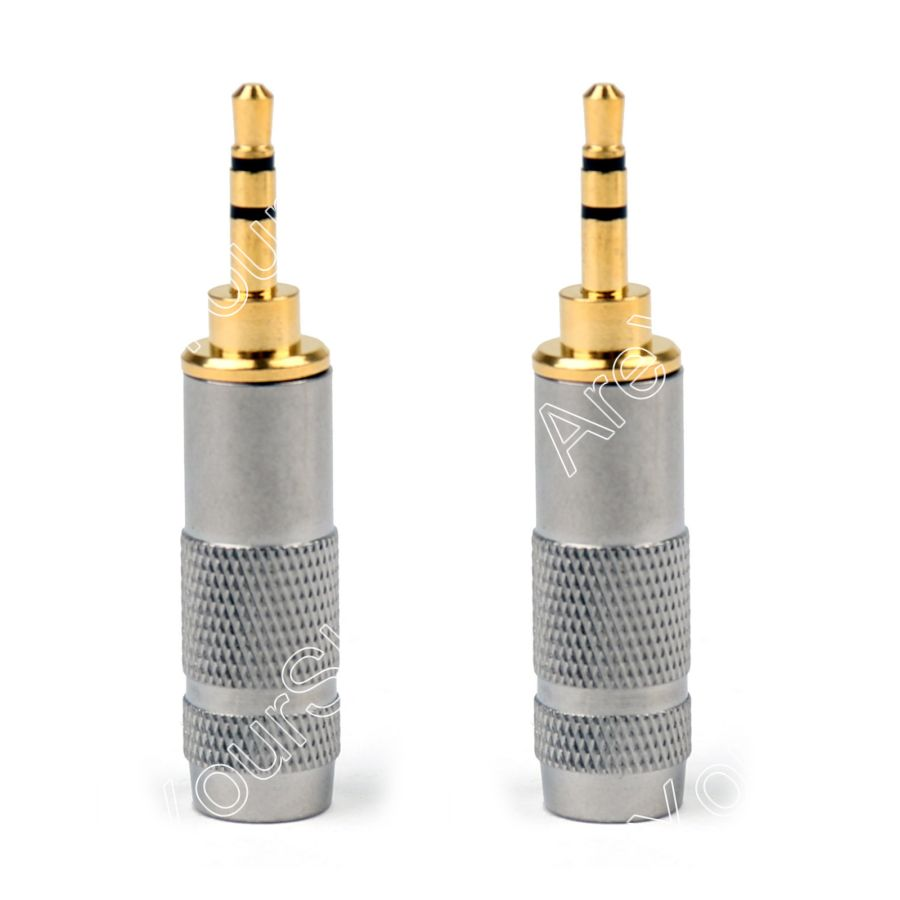 hight resolution of areyourshop sale 2pcs 2 5mm stereo male repair headphone jack plug audio soldering 6mm cable high quality mini plugjack
