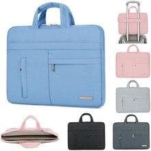 Популярная сумка для ноутбука Air Pro 13 Чехол для Mac Macbook Dell hp Asus acer lenovo Портативная сумка 13,3 14 15,6 дюймов