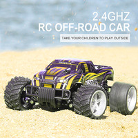 2018 New 9504 RC Car 1/16 2.4G 4WD Half Scale High Speed 20km/h RC Off road Buggy Car with 7.4V 380mAh Lipo battery