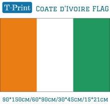 Free shipping 3x5ft Hanging Flying Flag 90*150cm/60*90cm/30*45cm 15*21cm Hand Flag Coate D'Ivoire National Flag free shipping somalia national flag 90 150cm 60 90cm 30 45cm car flag 15 21cm 3x5ft hanging flag