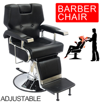 Shellhard All Purpose Hydraulic Recline Barber Chair Salon Beauty Spa Shampoo Equipment Home Furniture
