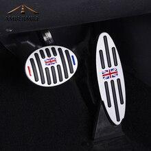 AMBERMILE автомобиля на подножку газа Тормозная педаль сцепления КРЫШКА ДЛЯ BMW Mini Cooper JCW S R55 R56 R60 R61 F54 F55 F56 F60 автомобильные аксессуары