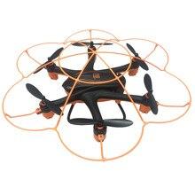 Mode rc hélicoptère Wltoy Q383 2.4 Ghz WIFI FPV RC Quadcopter Drone Avec 0.3MP Caméra Moniteur D'affichage À Distance D'hélicoptère De Contrôle