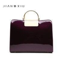 Bằng Sáng Chế đỏ Túi Xách Da Shoulder Bag Satchel Handbag Saffiano Tote Túi Túi Thạch Luxury Thương Hiệu Nổi Tiếng Phụ Nữ Da Đen Lớn Ly Hợp