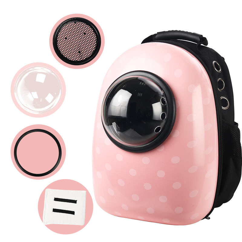 Pet Cat Backpack Bubble Window for Kitty Puppy Chihuahua Small Dog Carrier Crate Outdoor Travel Bag Cave