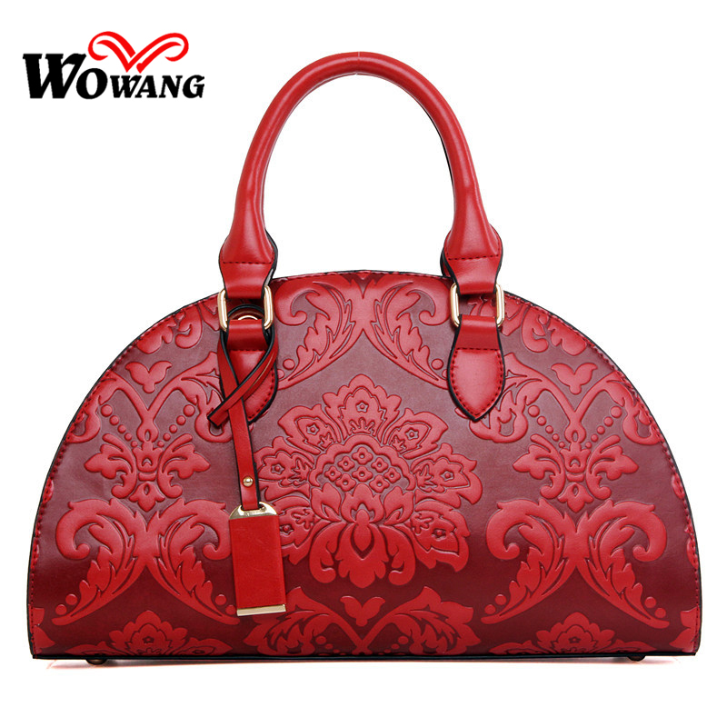 Chinese National Wind Women Bag 2016 Women Leather Handbag Brand Designer Women Shoulder Bag Fashion Shell Messenger Bags Tote original national wind leather ladies handbag 2017 spring of the new chinese wind hand bag woman women s handbags