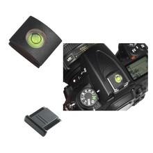 Wholeasle10pcs/lot New Camera Bubble Spirit Level Hot Shoe Cover Protector for Nikon DSLR