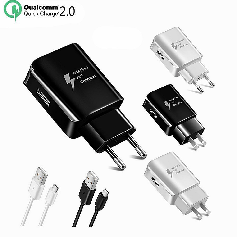5V 2A EU/US Plug USB Fast Charger Mobile Phone Wall Travel Power Adapter Charging For iPhone 6 6s 7 Plus Samsung S7 edge Xiaomi