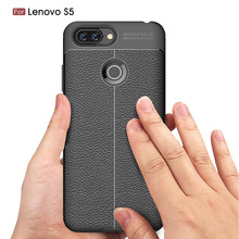 Carbon Fiber Case For Lenovo S5 /  Z5 L78011 K8 Note Soft Cover Phone Cases Coque Fundas Etui Capa