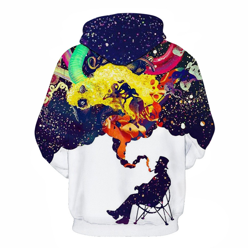 Wolf Printed Hoodies Men 3D Hoodies Brand Sweatshirts Boy Jackets Quality Pullover Fashion Tracksuits Animal Street wear Out Coat 75