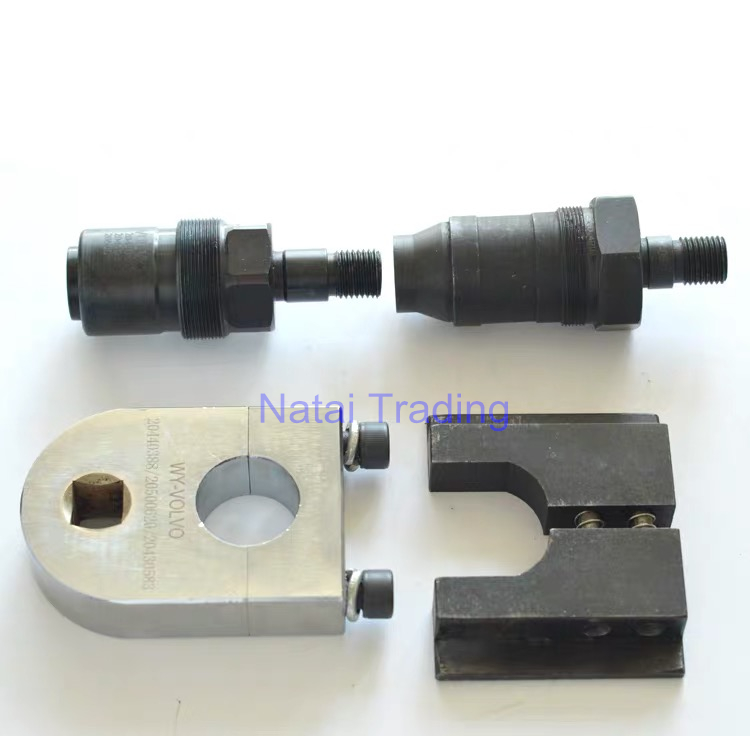 for diesel injector Volvo 2 pins 4 pins repair tool kits adaptor for common rail fuel injector assemble clamp disassemble tool