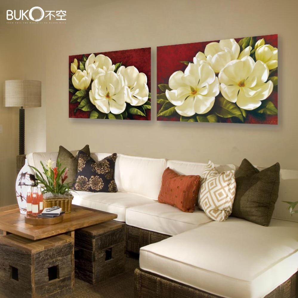 Lotus Flower Wall Art popular red lotus flower wall art-buy cheap red lotus flower wall