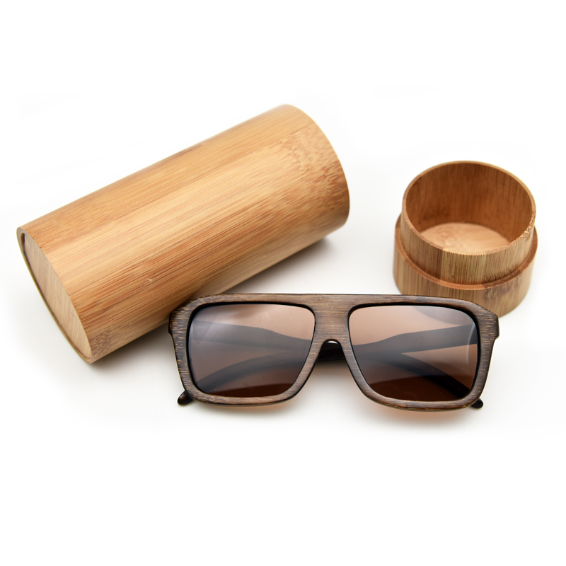 2017 Fashion Women Men Pilot Polarized sunglasses Brand Designer brown color glasses cr39