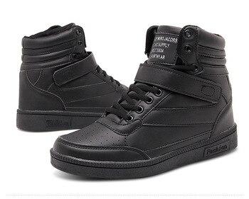 плюс размер сетки | Зимняя бархатная повседневная обувь с высоким берцем; женские кроссовки на платформе; женские кроссовки на плоской подошве; модная обувь, в...