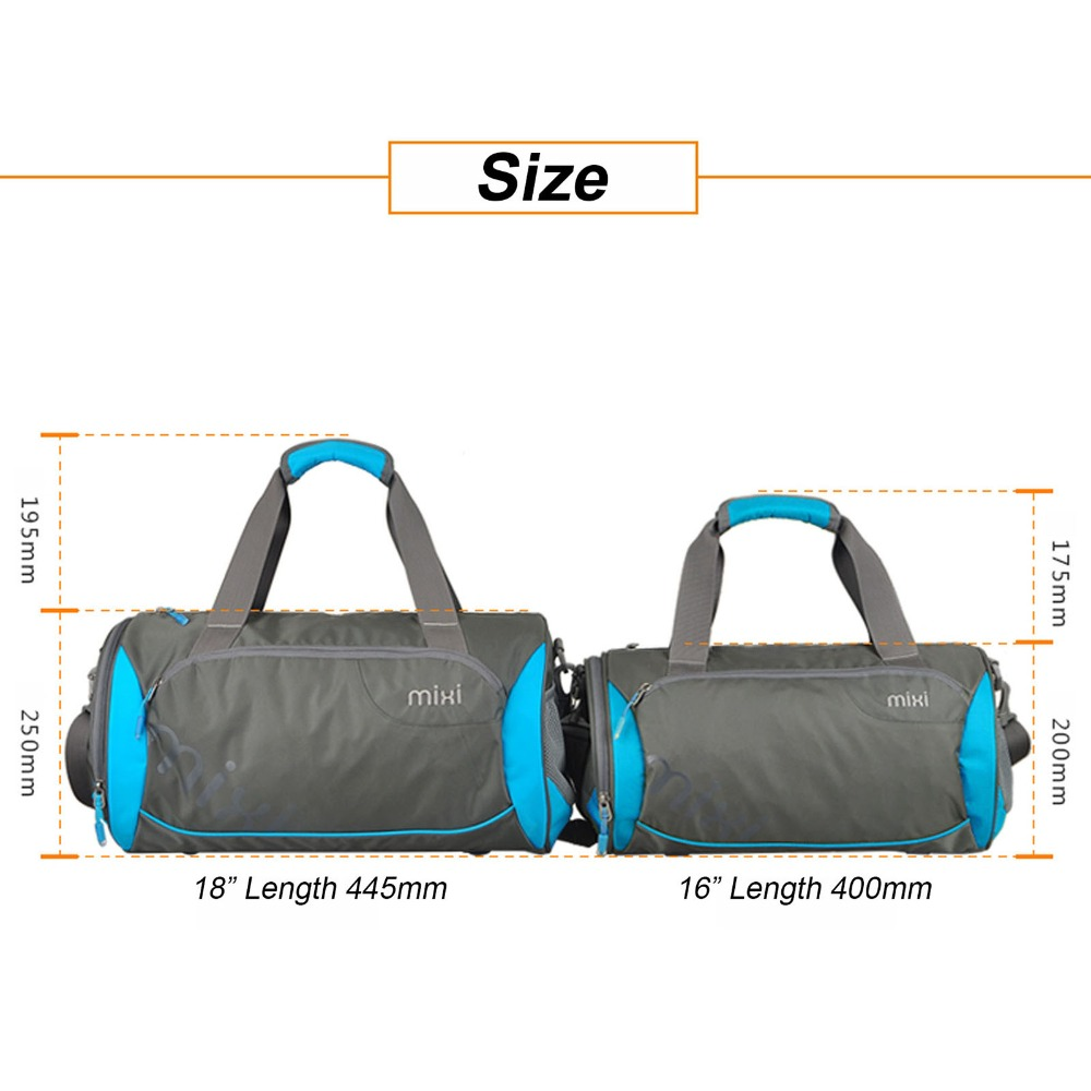 6d6b146604 Mixi High Quality Men Travel Bag Waterproof Fashion Male Handbag Sport Mens  Shoulder Bag Brands Men Messenger Duffel Bag-in Travel Bags from Luggage    Bags ...